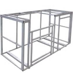 kitchen island kits cal 6 ft outdoor kitchen island frame kit kd f6002 the home depot