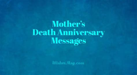 death anniversary messages  mother remembrance quotes
