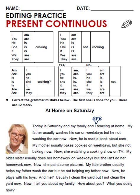 present x past simple grammar infographic past