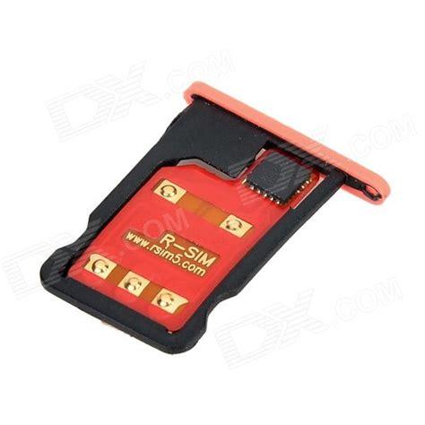 iphone 5 sim card r sim 9pro universal unlock sim card adapters for iphone