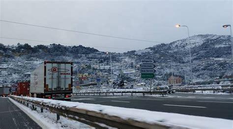 autostrada dei fiori imperia emergenza neve autostrada dei fiori quot codice bianco a
