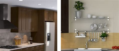 kitchen drawers vs cabinets open shelves versus wall cabinets 4735