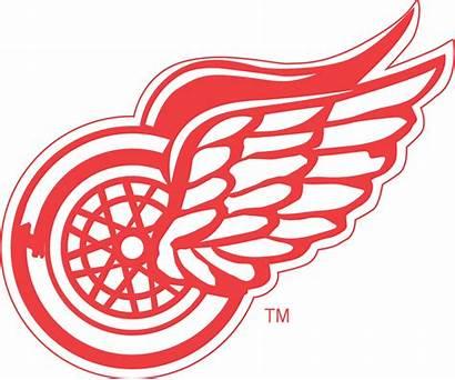 Nhl Wings Detroit Logos Team Clipart Downloads