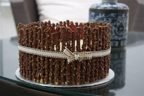 diy  birthday cake pocky pepero myhumblefood
