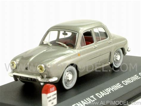 NOSTALGIE Renault Dauphine Ondine Gordini 1962 (Grey ...