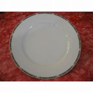 Assiette De Présentation : assiette de presentation 32cm bordure indian tree modele helene en porcelaine centre vaisselle ~ Teatrodelosmanantiales.com Idées de Décoration