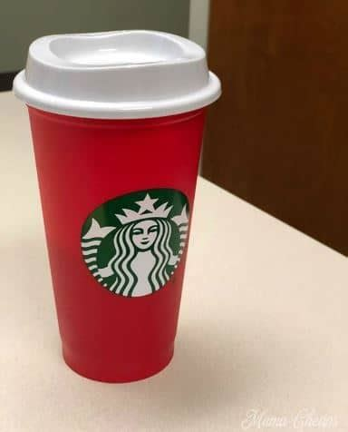 starbucks red cup day  reusable cup mama cheaps