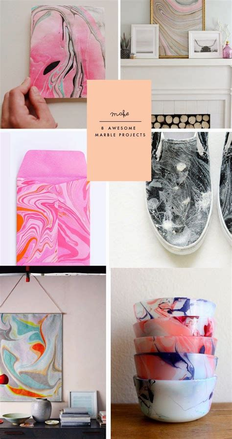 Do It Yourself Terrassenbau Selbst Gemacht by Poppytalk Marble Paper Tutorial D I Y Diy Projects