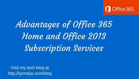 Office 365 Yearly Subscription by Office 365 Home And Office 2013 Subscription Services