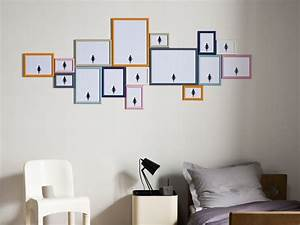 Accrocher Un Tableau Au Mur : comment accrocher des photos au mur amazing superbe accrocher un tableau sans percer le mur ~ Carolinahurricanesstore.com Idées de Décoration