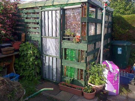 pallet  plastic bottle greenhouse  pallets