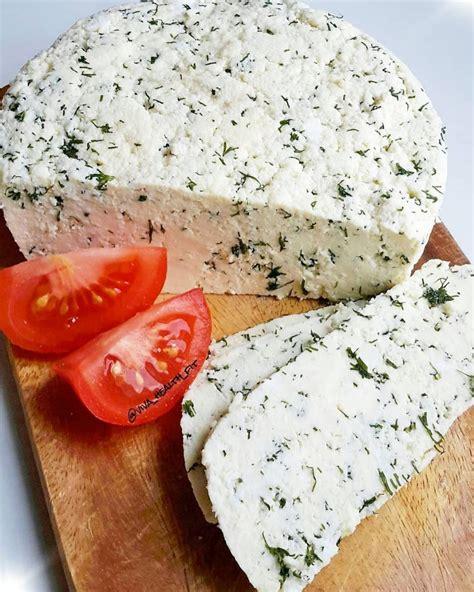 Mājās gatavots Jāņu siers ar dillēm - INSTA receptes - tavs recepšu portāls