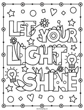 inspirational coloring book positive affirmations