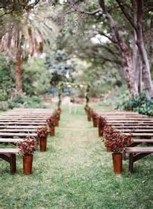 outdoor wedding aisle decor 12 ways to make you wedding aisle look fabulous