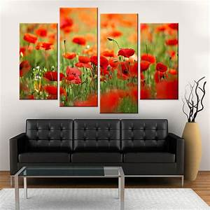 drop shipping home decor 28 images buy wholesale With kitchen cabinets lowes with red poppy canvas wall art