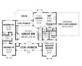 ranch style floor plans with basement affordable ranch 4676 3 bedrooms and 2 5 baths the house designers