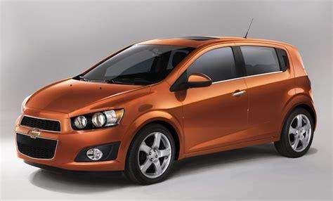 New Chevrolet Sonic 2012 Hatchback