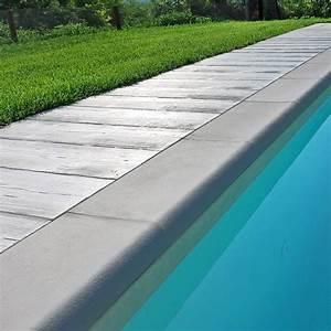 Bordo sagomato ROMA Autentika GRIGIO MIX per piscina BSVillage