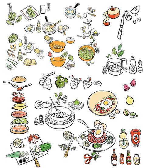documentaire cuisine japonaise lise herzog illustrations portfolio cuisine