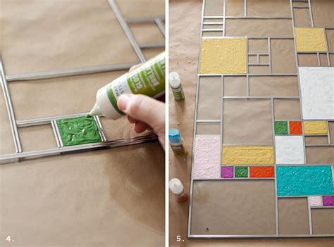 how to make a stained glass l diy faux stained glass a beautiful mess