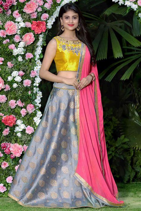 bridal lehenga choli  buy stylish indian wedding