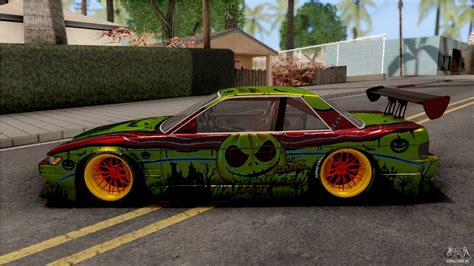 The nissan silvia is the series of sport coupes also known as the nissan s platform. Nissan Silvia S13 1990 B-Aero Kit IVF para GTA San Andreas
