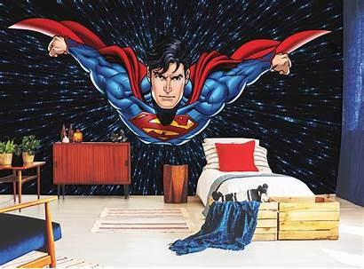 Superman Mural Adawall Poster Sasi Code Murals
