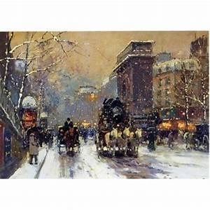 Peinture De Paris Poissy : peinture copie paris 19 tableau tableaux paysages villes ~ Premium-room.com Idées de Décoration