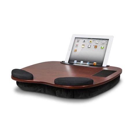 lap desk pillow for ipad ipad tablet wooden lap desk with wrist pads smart media