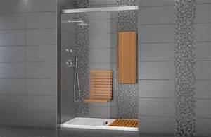Trouver modele douche en ceramique sans porte for Modele de douche sans porte