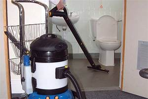 Cleaning equipment for commercial camp grounds caravan for Bathroom cleaning machine