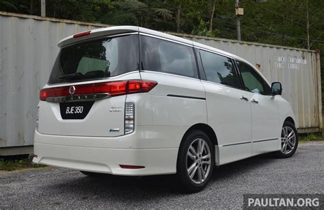 Review Nissan Elgrand by Driven Nissan Elgrand 3 5 V6 All About Comfort Image 219013
