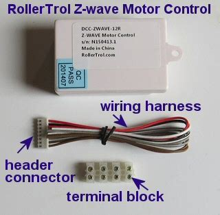zwave motor control  window shades blinds