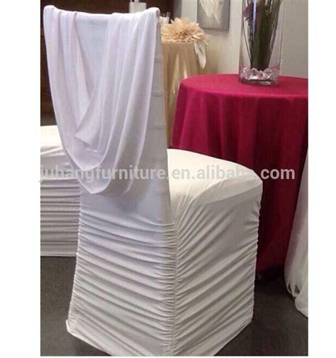 burgundy cheap ruffled wedding chair cover for chiavari