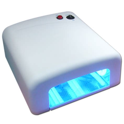 gel nail uv l new 36w uv gel nail l dryer manicure light gel timer with 4 bulbs ebay
