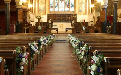 The Decline Of Church Weddings Wedding And Event Florist