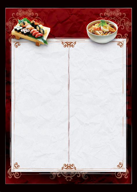free menu design templates template menu food by jotapehq on deviantart