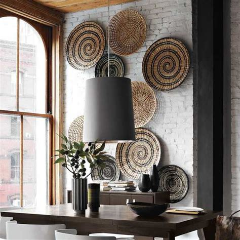 Modern Wall Decoration With Ethnic Wicker Plates, Bowls. Red And Silver Living Room Ideas. Interior Design Cost For Living Room. Kid Friendly Living Room Decorating Ideas. Small Living Room Design Ideas On A Budget. Marks And Spencer Living Room Furniture. Unique Living Room Chairs. Country Living Room Ideas Pinterest. Best Living Room Sofa
