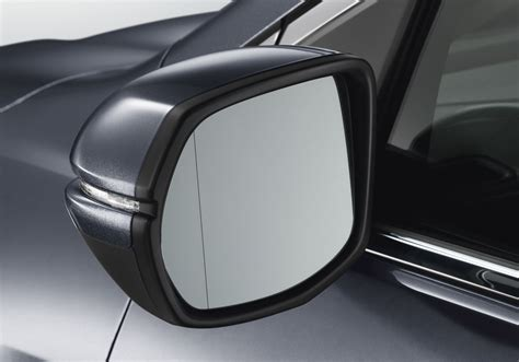 honda cr  expanded view mirror  heated