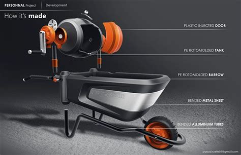 black decker cement mixer  behance diseno producto