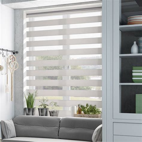 House Blinds by Enjoy Vision Soft Grey Roller Blind From Blinds 2go