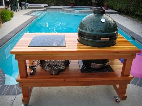 large big green egg table pdf woodwork large green egg table download diy plans