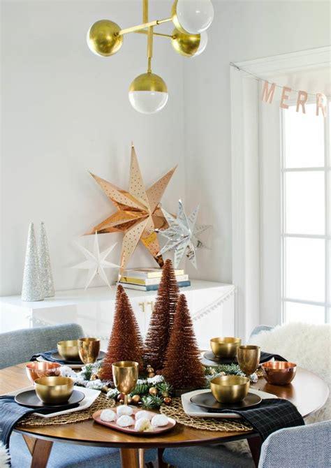 decoration de table de noel quelles tendances deco pour