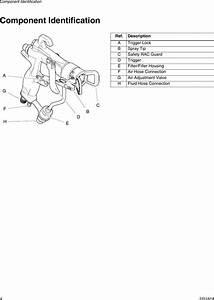 Graco 333182a G40 Air Assisted Spray Gun Parts Users