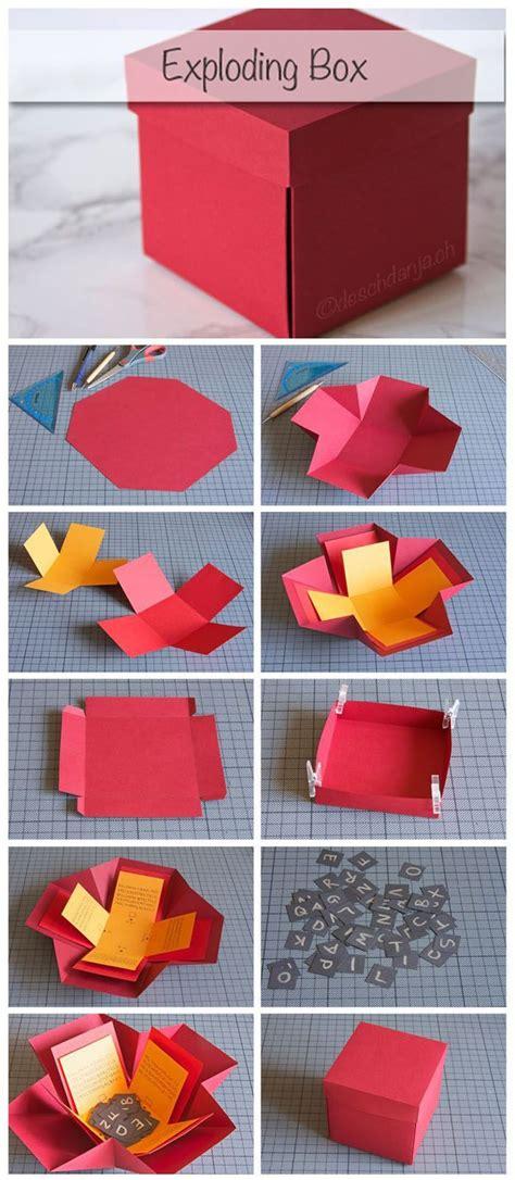 geschenkbox selber basteln anleitung geschenkbox basteln anleitung zur anregung der