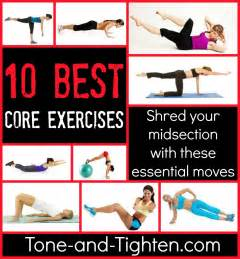Top 10 Best Core Exercises