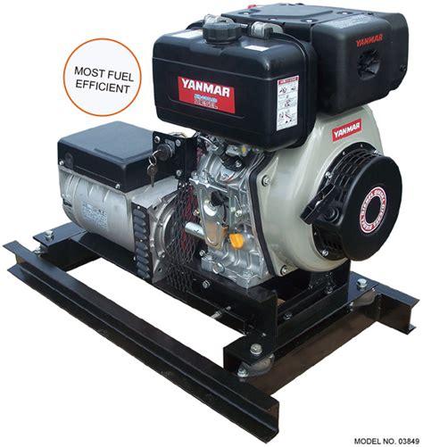 Small Boat Genset by Turning 5 Kw Yanmar Diesel Generator