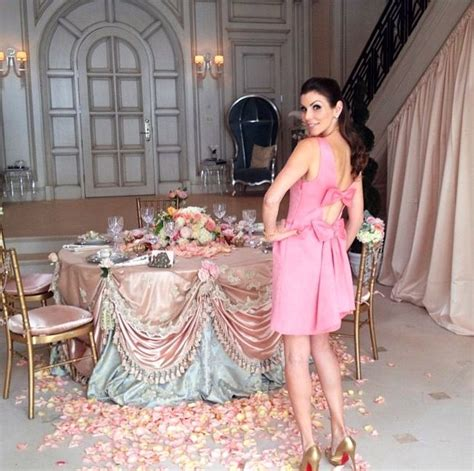 dubrow s rhoc pink bow dress and beautiful table