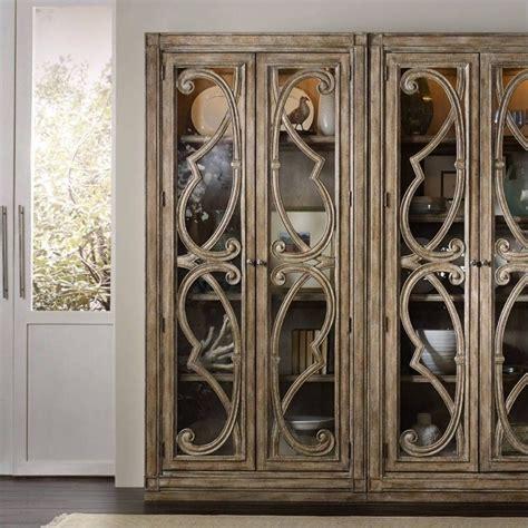 furniture solana bunching 2 door curio cabinet in