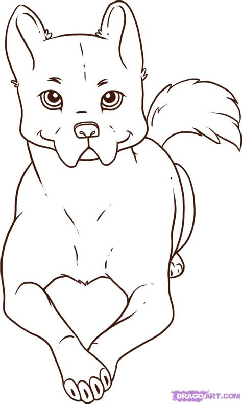 dog drawing pictures   clip art